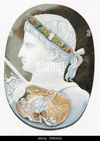 a biography of augustus gaius julius caesar octavianus a roman emperor Synopsis caesar augustus was born gaius octavius on september 23, 63 bc, in velletri, italy julius caesar, his great-uncle, took an interest in augustus.