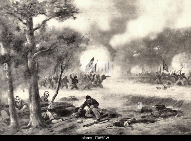 Gettysburg - Union Clears the Wheatfield