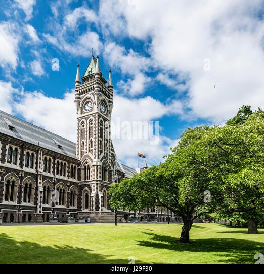 University Of Otago Stock Photos & University Of Otago