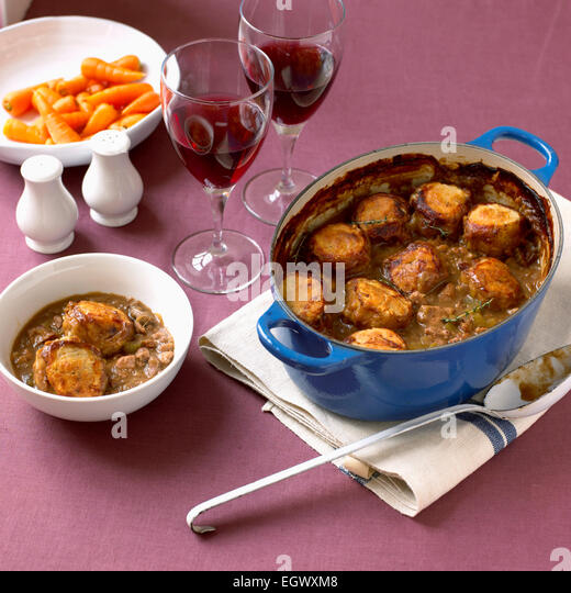Game Casserole In Casserole Stock Photos & Winter Game Casserole ...