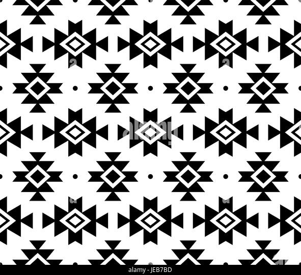 navajo designs patterns. Aztec Vector Pattern, Tribal Background, Navajo Design In Black Pattern On White - Stock Designs Patterns