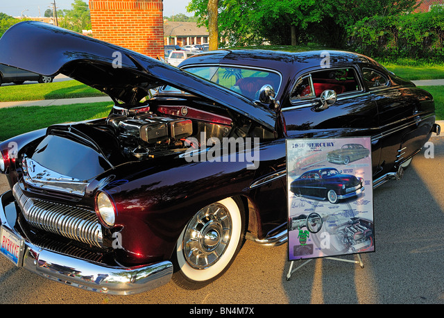 1950 Mercury Coupe Hot Rod