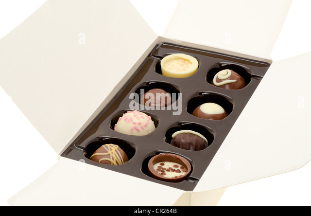 luxury chocolates stock photos luxury chocolates stock images alamy. Black Bedroom Furniture Sets. Home Design Ideas