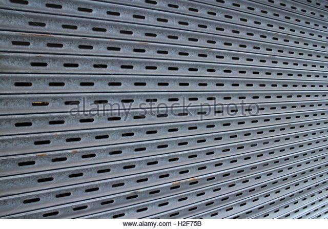 Steel Garage Door Texture garage door stock photos & garage door stock images - alamy