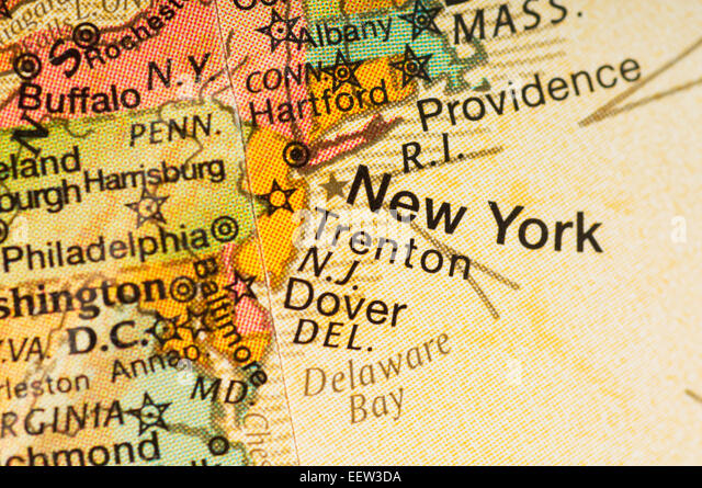 Map Of New York State Stock Photos Map Of New York State Stock - New york northeastern us map