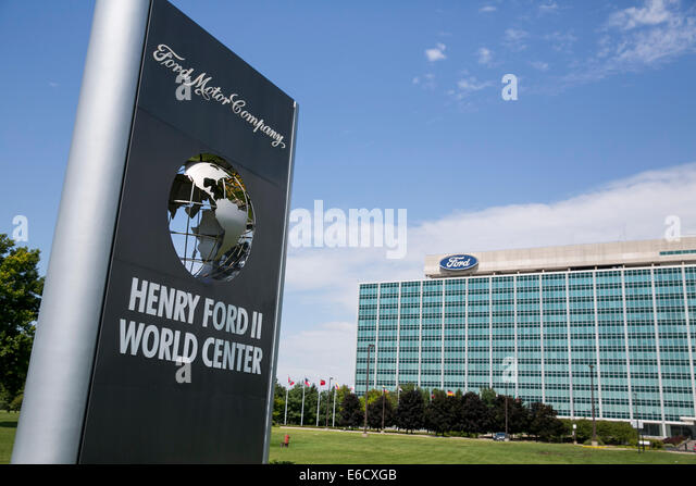 Headquarters ford motor company in stock photos for Ford motors corporate office