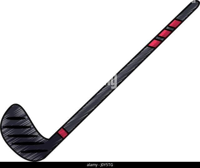 how to draw a hockey stick