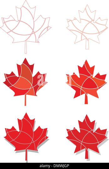 Canadian Leaf Outline