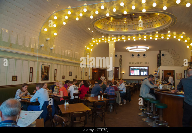 busy cafe inside stock photos busy cafe inside stock images alamy. Black Bedroom Furniture Sets. Home Design Ideas