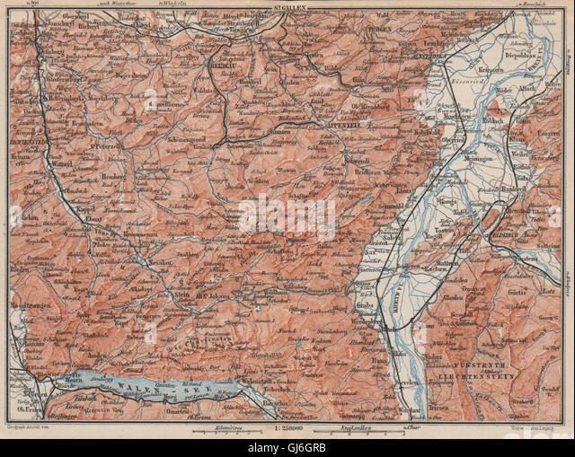 Appenzell Map Stock Photos Appenzell Map Stock Images Alamy