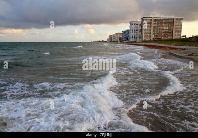Erosion In Beaches In Florida Vero Beach Hurricane Matthew