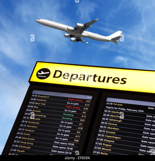 airport-flight-information-and-airplane-