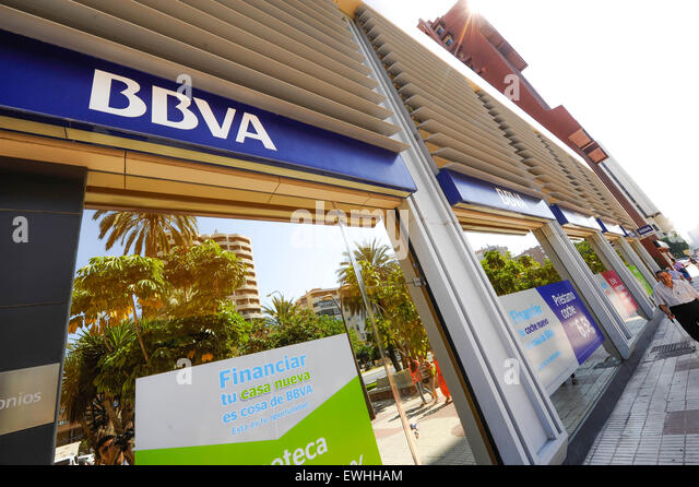 Bbva stock photos bbva stock images alamy for Oficina bbva malaga
