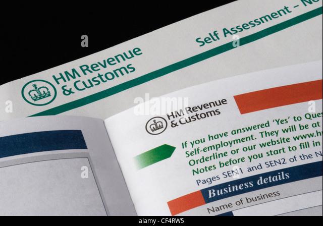 self assessment paper tax return