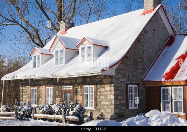 Canadiana style house