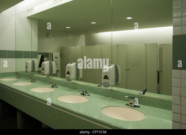 Public Bathroom Mirror public bathroom mirror stock photos & public bathroom mirror stock
