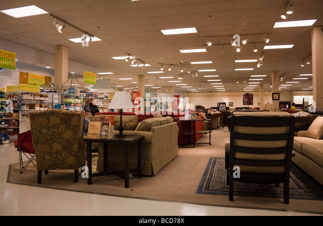Furniture section of Sears department store  Coquitlam Center Mall   Coquitlam  BC  Canada. Furniture Department Store Stock Photos   Furniture Department