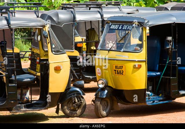 Auto Rickshaw For Rent In Trivandrum: Autorickshaws Stock Photos & Autorickshaws Stock Images