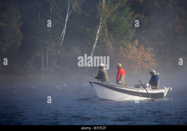 Drift boat stock photos drift boat stock images alamy for Head boat fishing near me