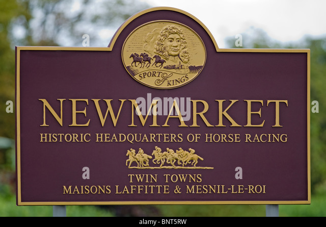 Affordable Newmarket Sign Stock Image With Pizza Hut Maison Laffite