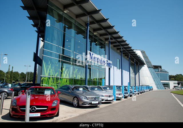 Racing cars mercedes stock photos racing cars mercedes for Mercedes benz surrey uk