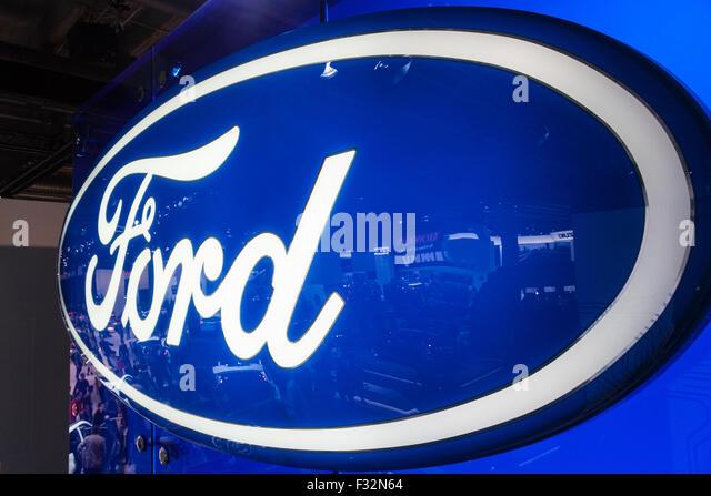 Ford Motor Company Logo Stock Photos Ford Motor Company