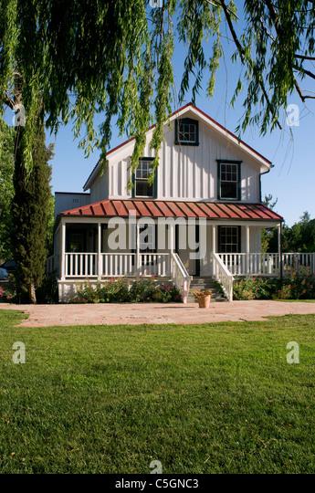 Farmhouse Residence Santa Ynez Valley CA California