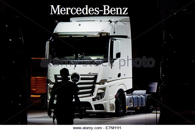 Daimler commercial vehicles stock photos daimler for Mercedes benz of valencia general manager