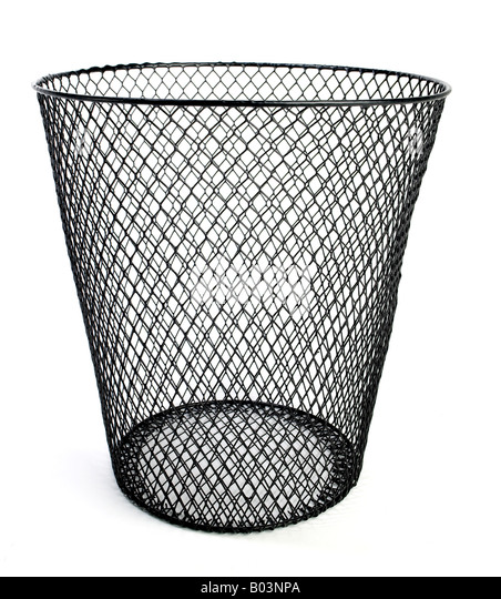 Wire Waste Paper Basket waste paper basket stock photos & waste paper basket stock images