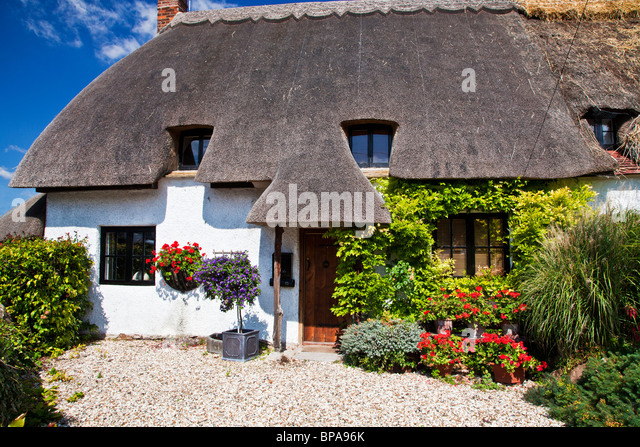 English thatched cottage stock photos english thatched cottage stock images alamy - The thatched cottage ...