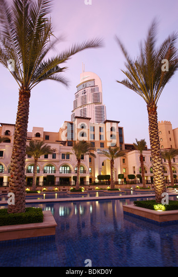 Address hotel stock photos address hotel stock images for Best hotels dubai downtown