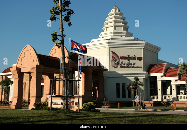 Angkor National Museum Stock Photos & Angkor National ...