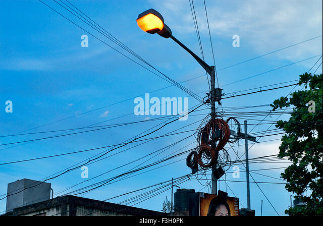 India Electric Post Stock Photos & India Electric Post Stock ...