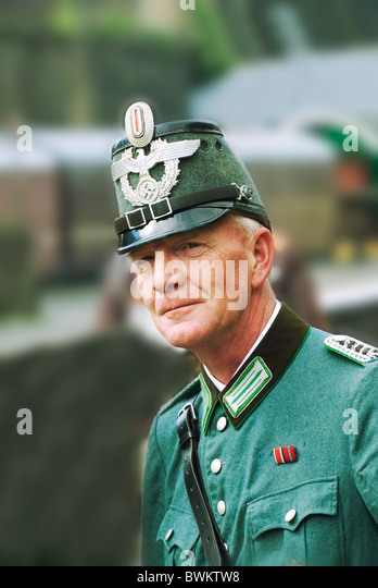 Exhibition Booth German : Nazi officer stock photos images alamy