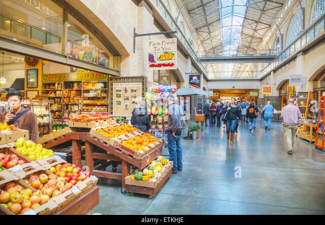 San Francisco Ferry Building Farmers Market Food