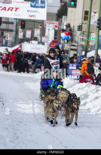 an overview of the iditarod dogsled race of alaska Iditarod trail sled dog race steve watkins team during the ceremonial start of  the iditarod dog sled race in anchorage, alaska, march 3, 2018.