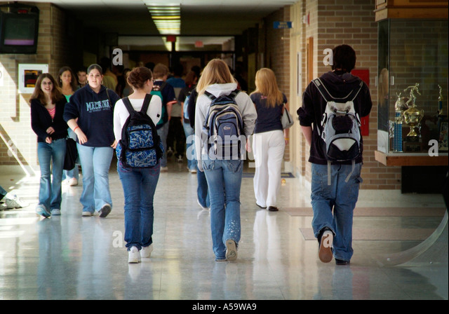 Backpacks In College Class Stock Photos & Backpacks In College ...