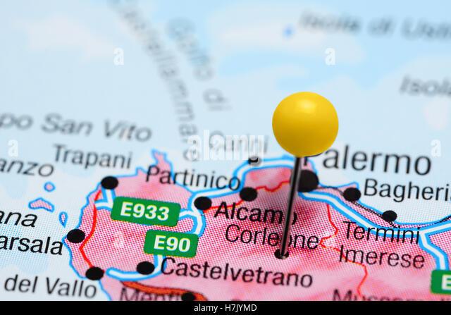 Corleone Best Of s Colour Antique Sicily Stock