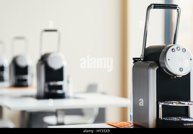 Nespresso coffee shop stock photos nespresso coffee shop stock images - Machine a cafe nespresso ...