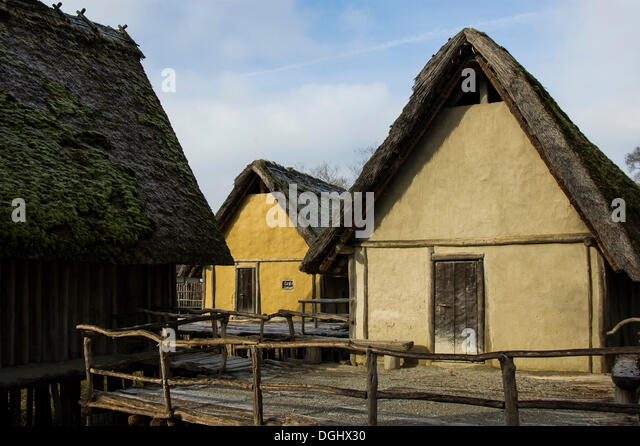 Log cabin on stilts stock photos log cabin on stilts Log cabin homes on stilts