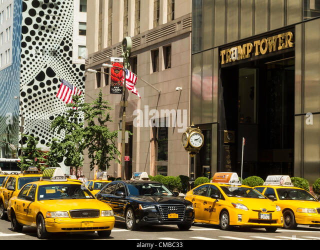 New York City, USA. 10 July 2012. The distinctive dot motif is Kusama's signature element. The store exterior will - Stock Image