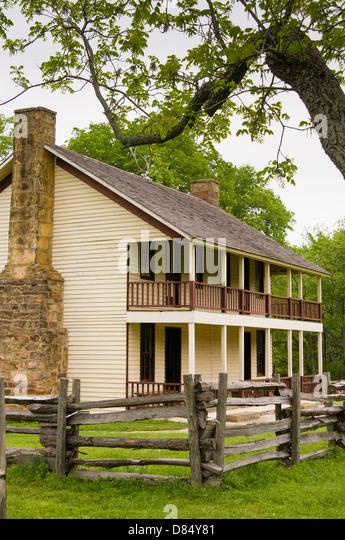 Elkhorn Tavern Pea Ridge National Military Park Garfield Arkansas
