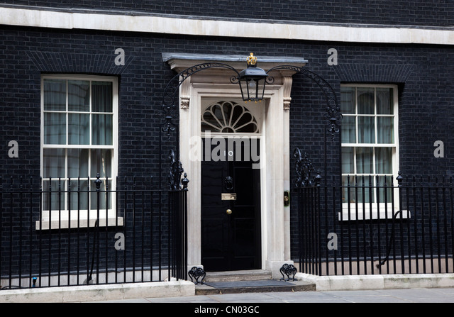 10 downing street door stock photos 10 downing street. Black Bedroom Furniture Sets. Home Design Ideas