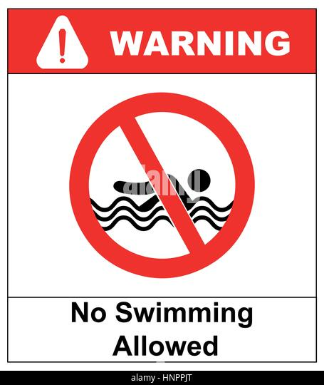 Warning Sign Diving Prohibited Stock Photos Warning Sign Diving Prohibited Stock Images Alamy