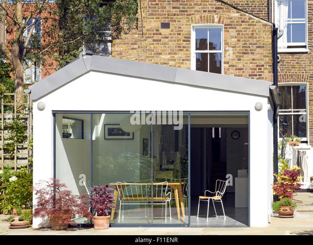 Sylvester road stock photos sylvester road stock images for Sliding glass doors extension