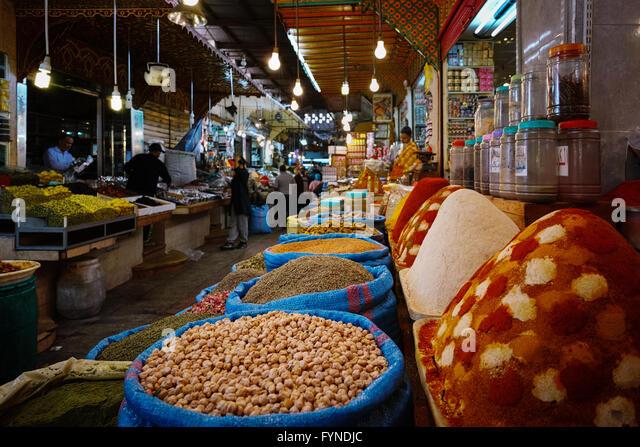 morocco spices market stock photos & morocco spices market stock