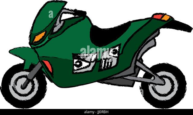 Motorcycle Racing Illustration Stock Photos Motorcycle Racing