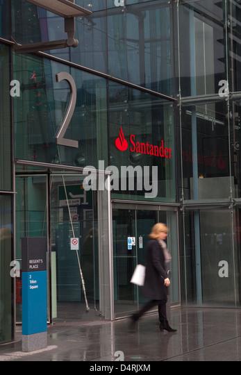 Santander uk stock photos santander uk stock images alamy - Santander head office telephone number ...