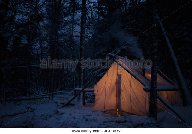 A wall tent at a c&. - Stock Image & Wall Tent Stock Photos u0026 Wall Tent Stock Images - Alamy