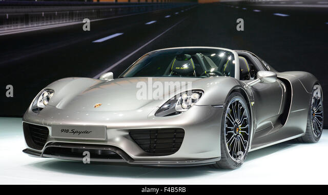 porsche spyder stock photos porsche spyder stock images alamy. Black Bedroom Furniture Sets. Home Design Ideas